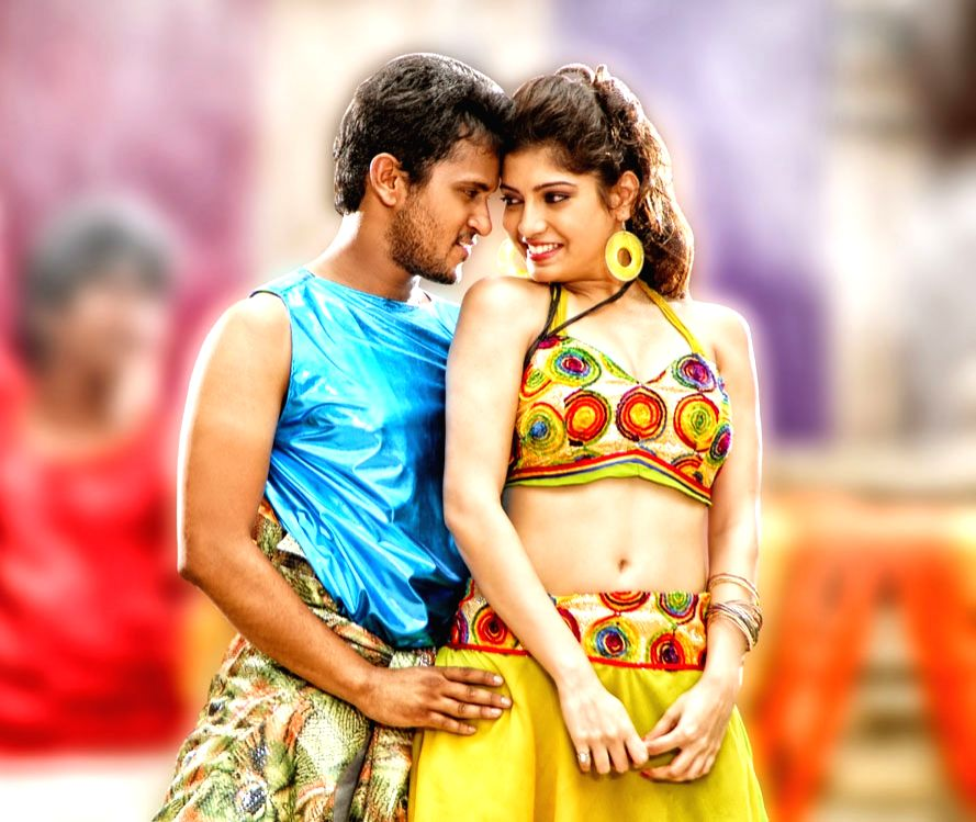 stills from Telugu film `Youthful Love`.