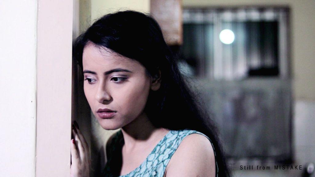 "Stills from the Assamese short film ""Mistake""."
