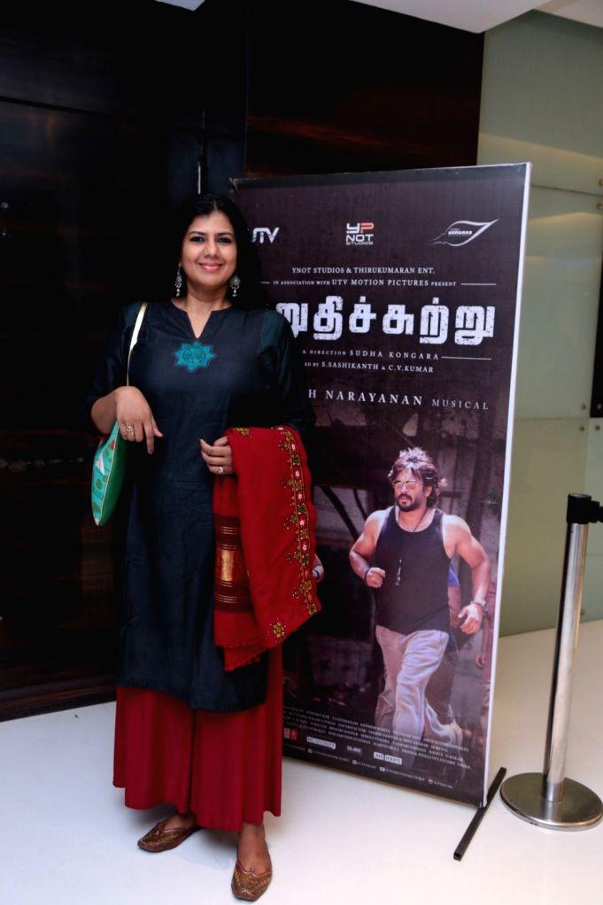 Irudhi Suttru' - premiere