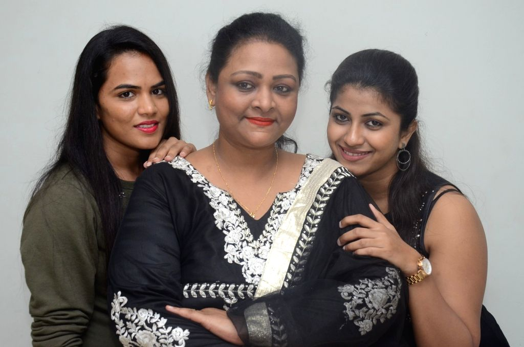 """Stills from trailer launch of film """"Ladies Not Allowed"""" in Hyderabad."""