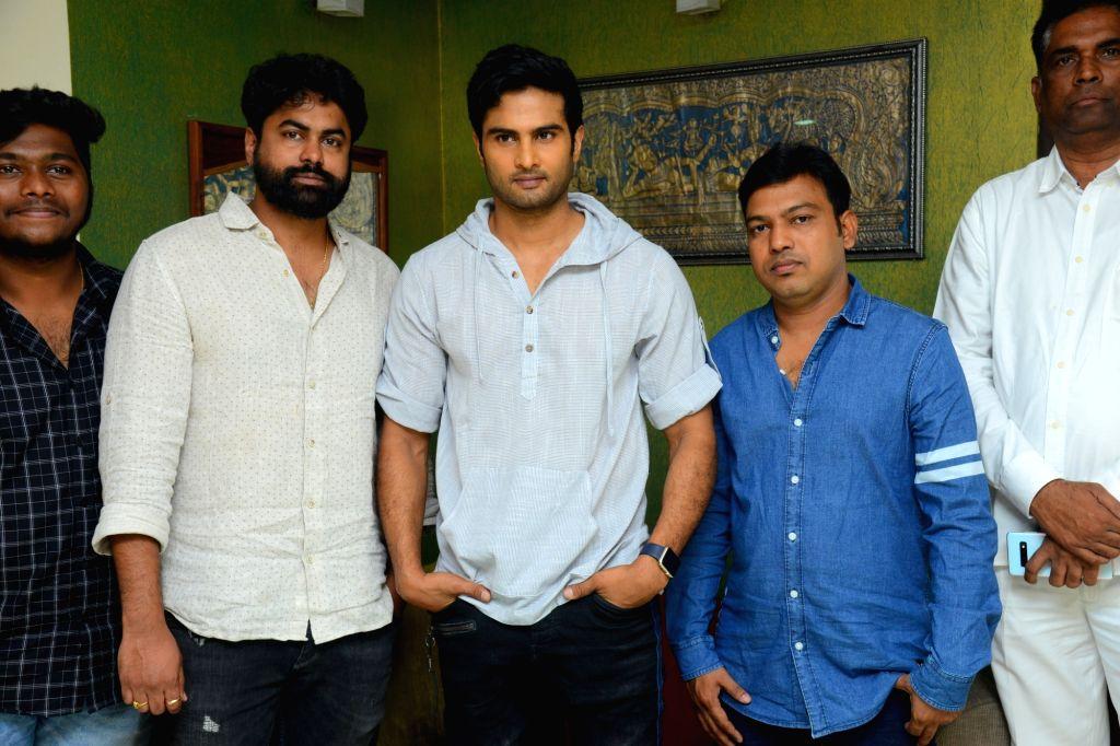 """Stills from trailer launch of film """"Picchodu"""" in Hyderabad."""