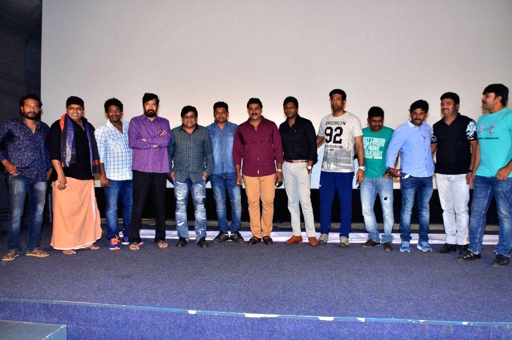 Stills from Ungarala Rambabu Pre Release in Hyderabad.