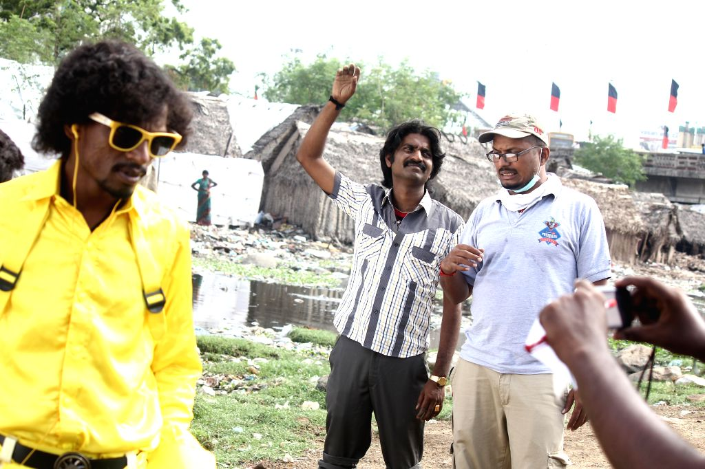 Stills from upcoming Tamil film `Panjumittai`.