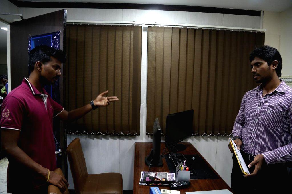 Stills from upcoming Tamil film Yoogan.