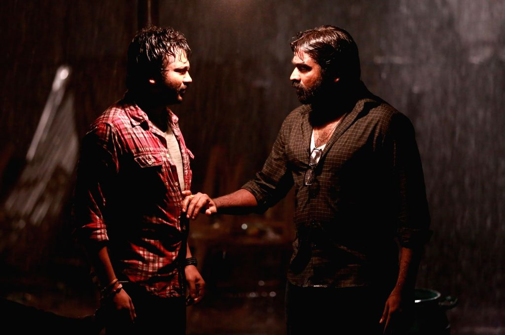 Stills of film Iraivi.