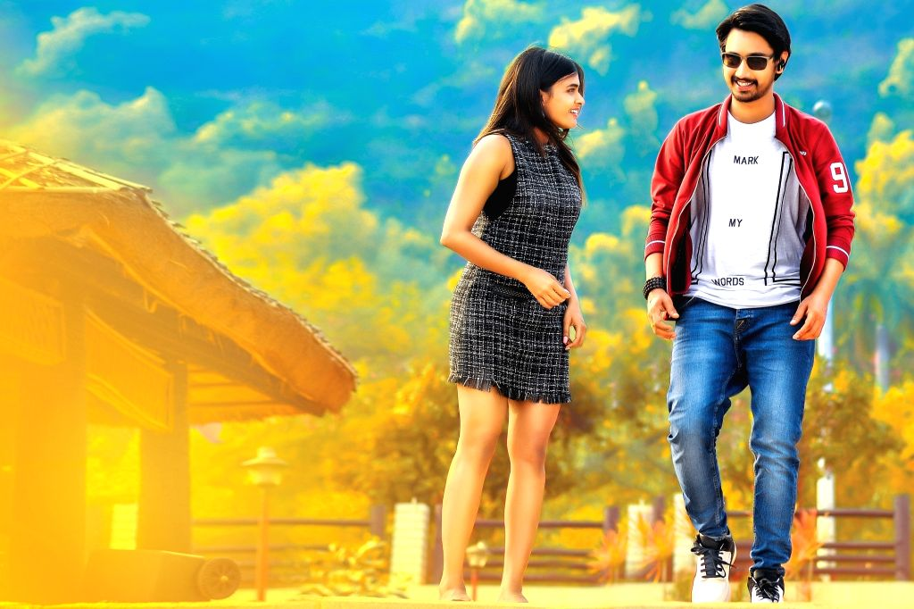 Stills of Telugu film Andhagadu.