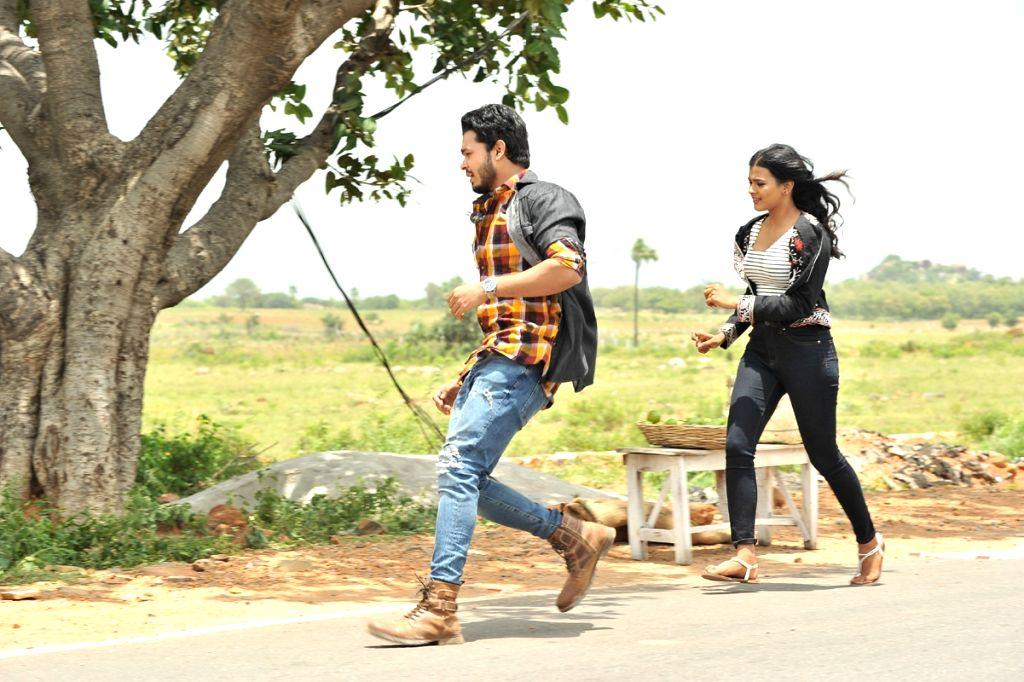 Stills of Telugu film Angel.