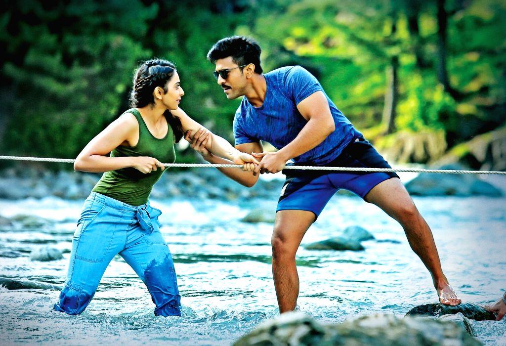 Stills of Telugu film Dhruva.