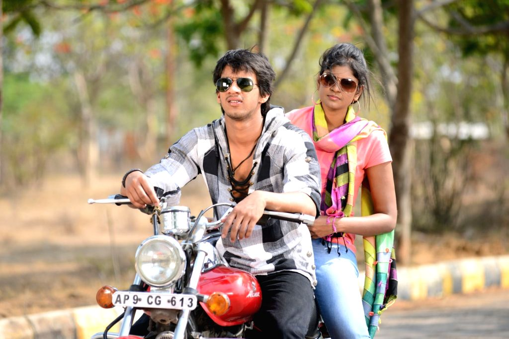 Stills of Telugu film Kotha Kothaga Unnadi.