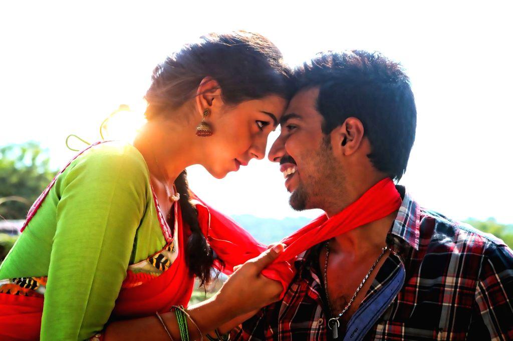 Stills of Telugu film Prema Leela Pelli Gola.