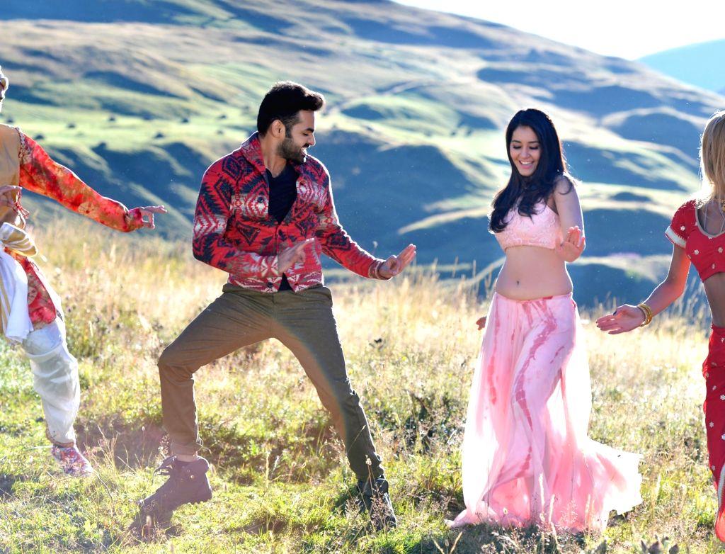 Stills of Telugu movie Hyper.