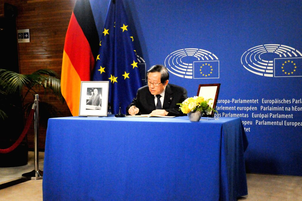 STRASBOURG (FRANCE), July 1, 2017 Chinese President Xi Jinping's Special Envoy Wan Gang, also Vice Chairman of the National Committee of the Chinese People's Political Consultative ...