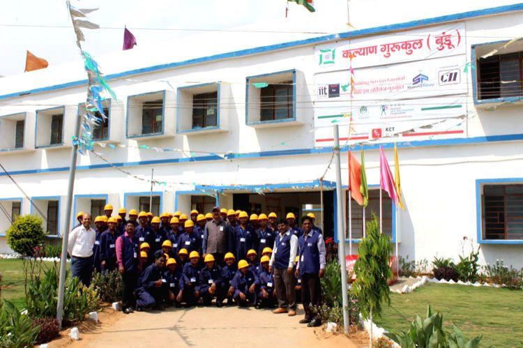 Students at Kalyan Gurukul.
