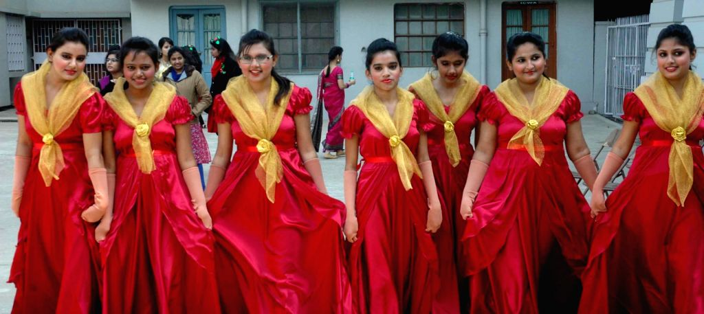 Carol Singing Competition In Patna Women S College