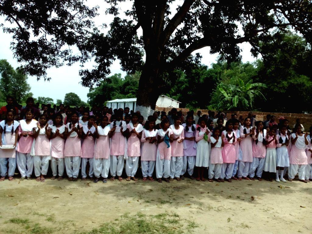 """Students, therefore, """"Bhitiharwa Gandhi Ashram"""" in Bihar's Champaran where Kasturba Gandhi used to teach. - Bhitiharwa Gandhi Ashram and Kasturba Gandhi"""