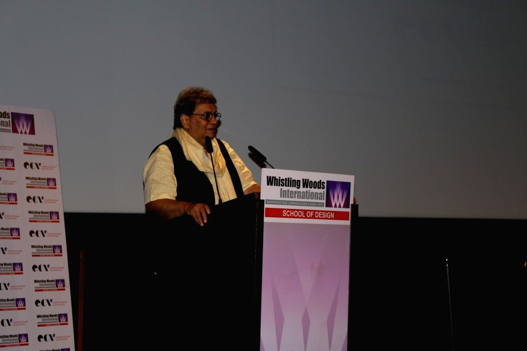 Subhash Ghai, filmmaker and founder Whistling Woods International, during the launch of School of Design in association with Ecole Communication Visuelle (ECV), in Mumbai on Nov 21, 2016.