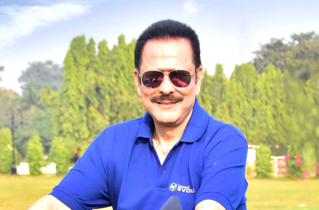 "Subrata Roy's Sahara India Pariwar announces its foray into the automobile sector, under the brand name ""Sahara Evols. The business venture will cater to India's largest range of Electric Vehicles (EVs) along with advanced allied services. - Subrata Roy"
