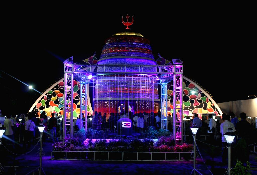 Subrata Sangh Durga Puja Pandal in Siliguri on Oct 5, 2016.