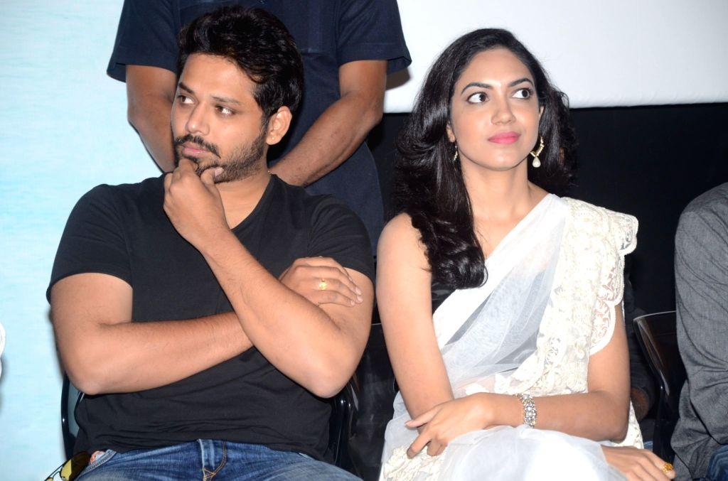 Success meet of Telugu film Pelli Choopulu in Hyderabad on 1st Aug., 2016.