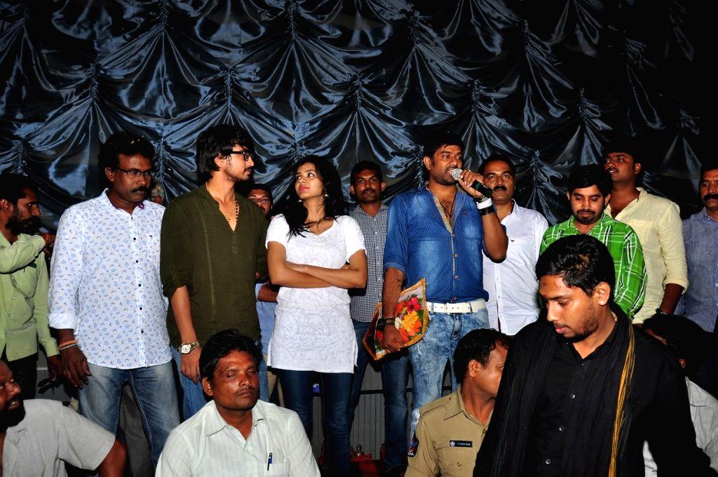 Success tour of Telugu film `Kumari 21F`.
