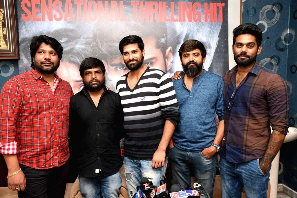 Suceses meet of Telugu film Venkatapuram.