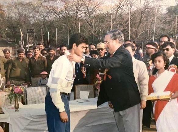 Sudheer Babu's 'nostalgic throwback'.
