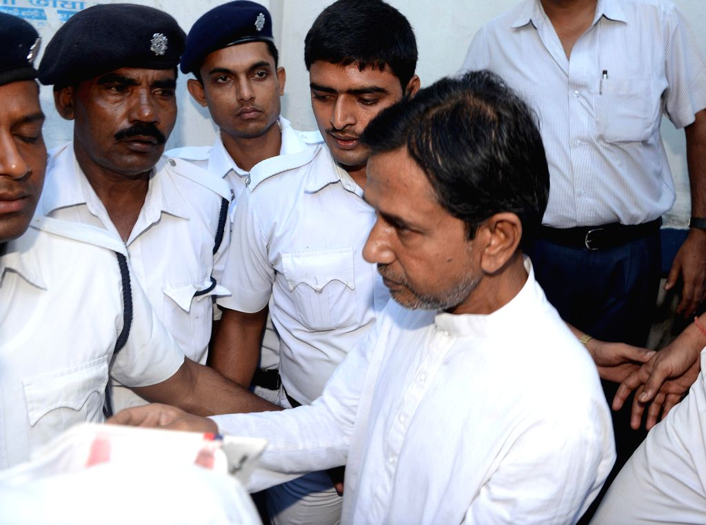 Sudipto Sen, owner of Saradha group being produced at a court in Kolkata on Sep 6, 2014.