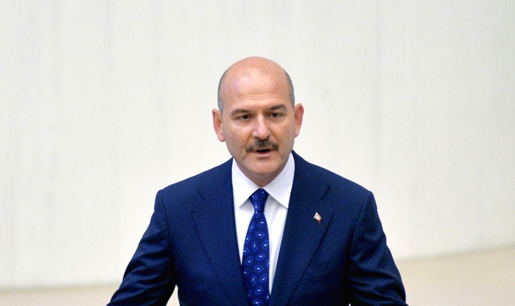 Suleyman Soylu. (File Photo: IANS)