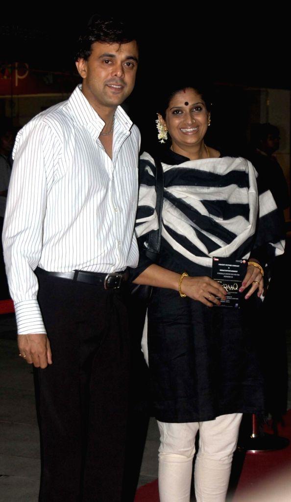 Sumeet Raghwan at film 'Fraaq' premiere at PVR in Mumbai.