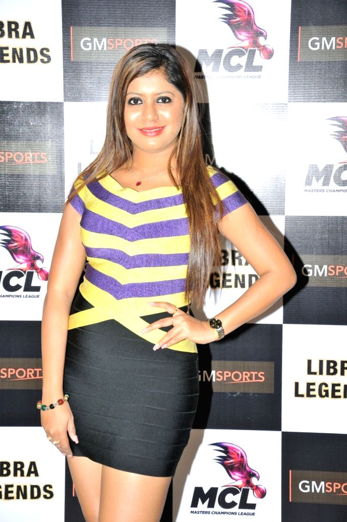 Sumeet Tappoo at the launch of Libra Legends Masters Champions League (MCL) team in Mumbai on Nov  30, 2015