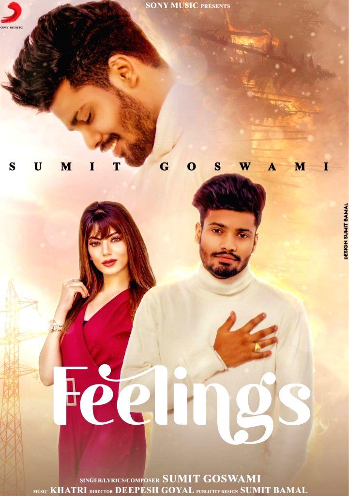 Sumit Goswami's 'Feelings' garners 50mn views in 3 weeks. - Sumit Goswami