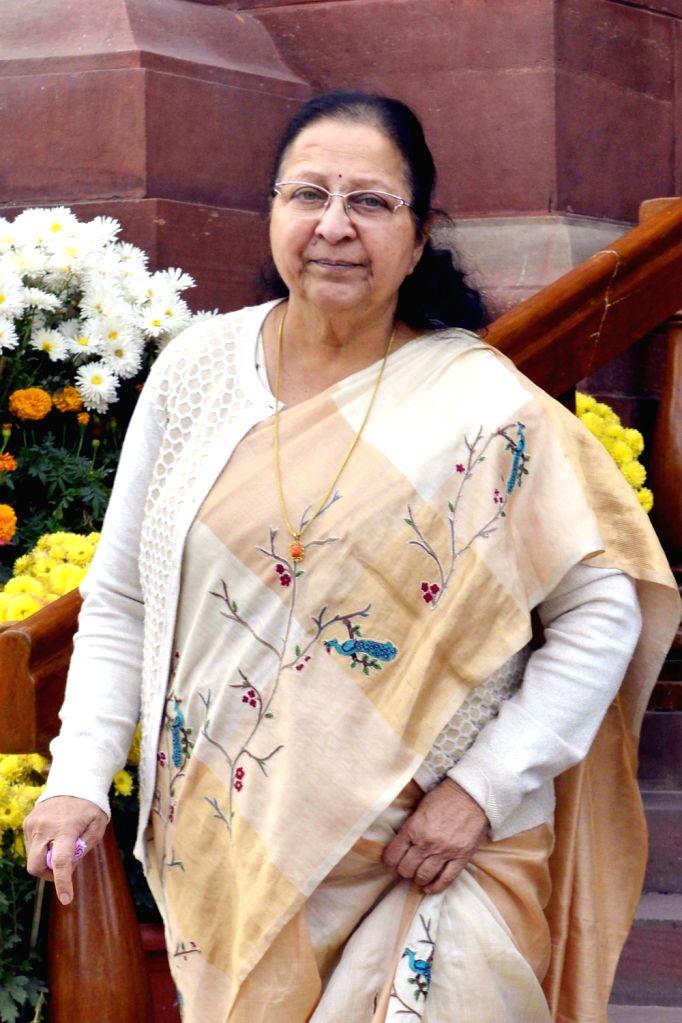 :Sumitra Mahajan. (File Photo: IANS).