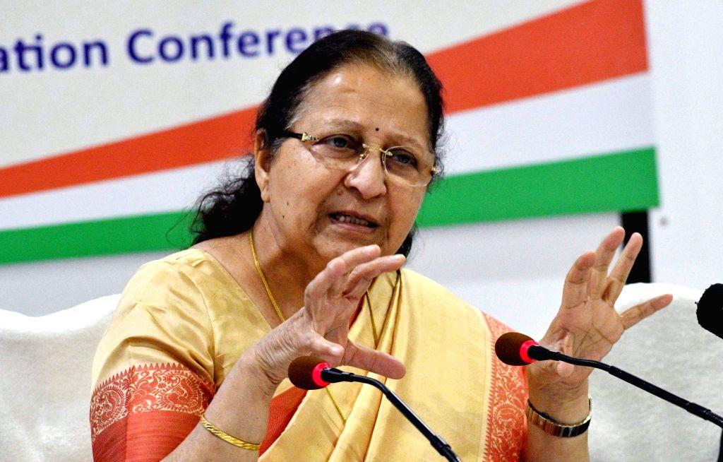 Sumitra Mahajan. (File Photo: IANS) - Sumitra Mahajan