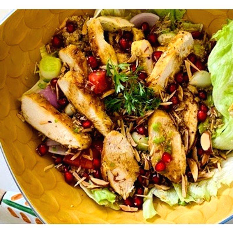Summer salads for sweltering lockdown days.