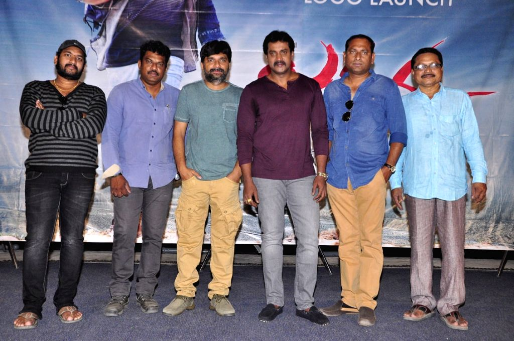 Suneel during the announcement of his new film title Jakkanna at Prasad Labs in Hyderabad.