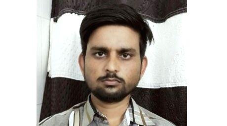 Sunil Kumar, posing as cop Anil Kumar. - Sunil Kumar