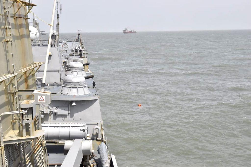 Sunken tugboat's wreckage found near Bombay High Fields