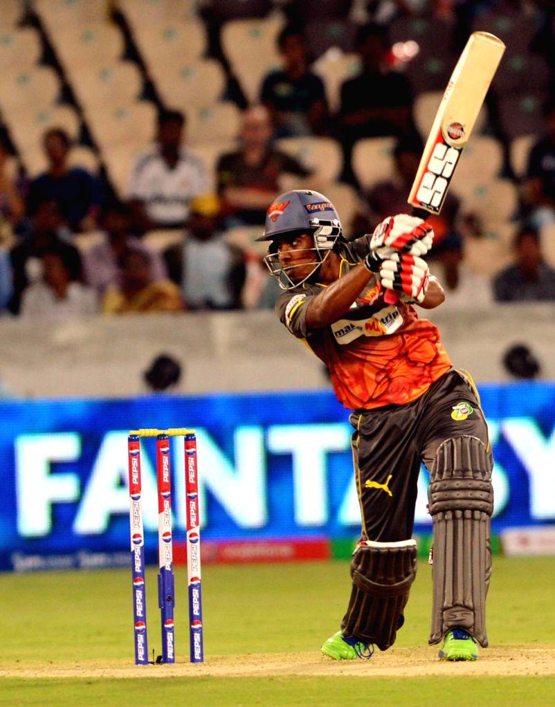 IPL match between Sunrisers Hyderabad and PWI at Uppal ...