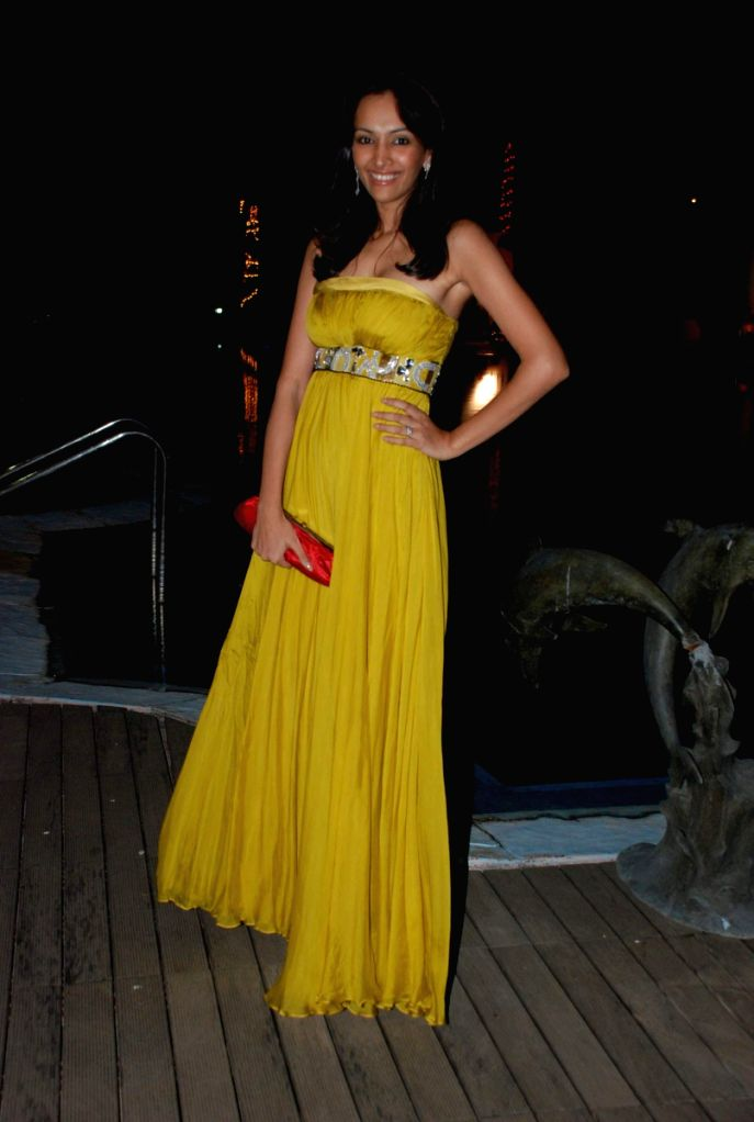 Super Hot Udita Goswami at Fair One Miss Mumbai Finals.
