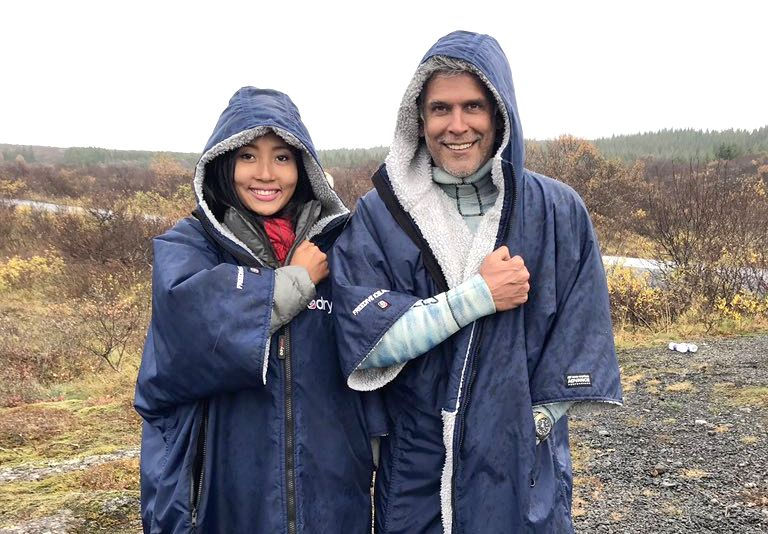 Super hunk Milind Soman and his wife Ankita Konwar have been painting the social media scene red with pics of their Iceland vacation.