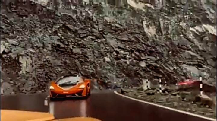 Supercars speed past Arunachal highways leaving CM, netizens cheerful