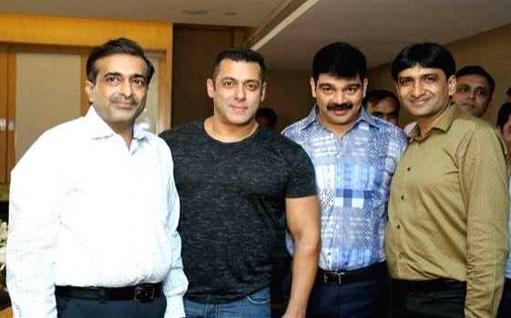 Superstar Salman Khan has been signed as the brand ambassador - Salman Khan