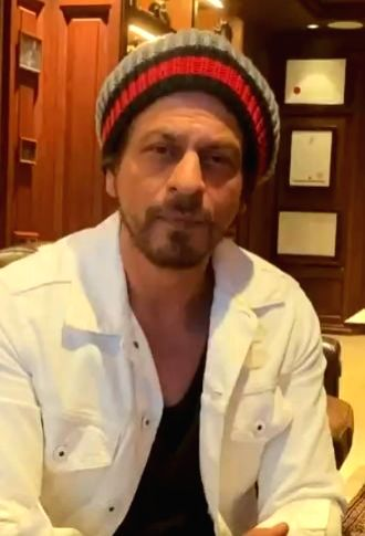 Superstar Shah Rukh Khan has come out with a video to create awareness around COVID-19 and also urged fans to stay indoors and follow precautionary measures. In the video, the actor is seen talking ... - Shah Rukh Khan