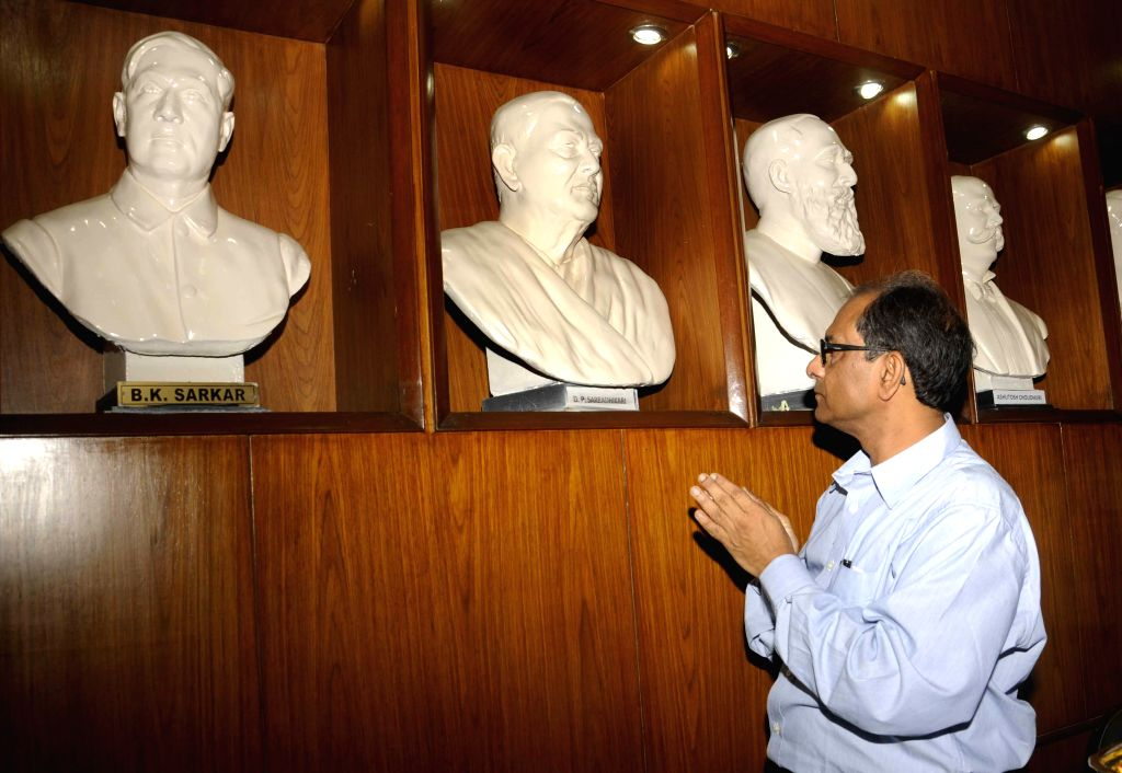 Suranjan Das, the new Vice-Chancellor of Jadavpur University assumes charge in Kolkata, on July 16, 2015.