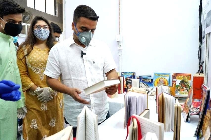 Surat COVID-19 centre sees first Kalam library.