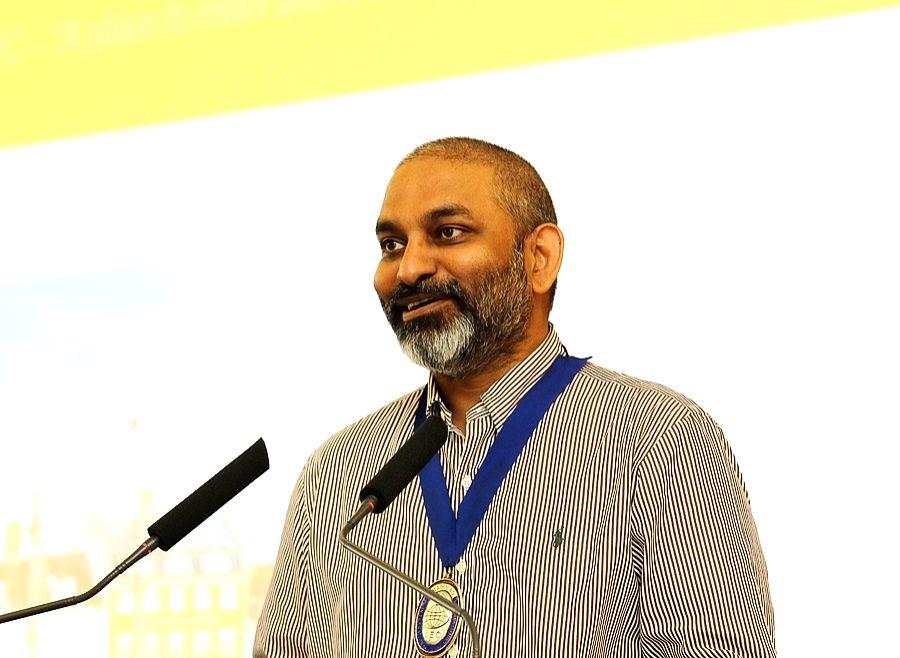 Suresh Chitturi. (File Photo: IANS)