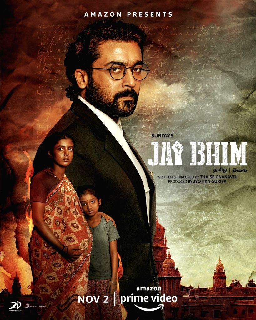 Suriya's Tamil courtroom drama 'Jai Bhim' to release on Nov 2.