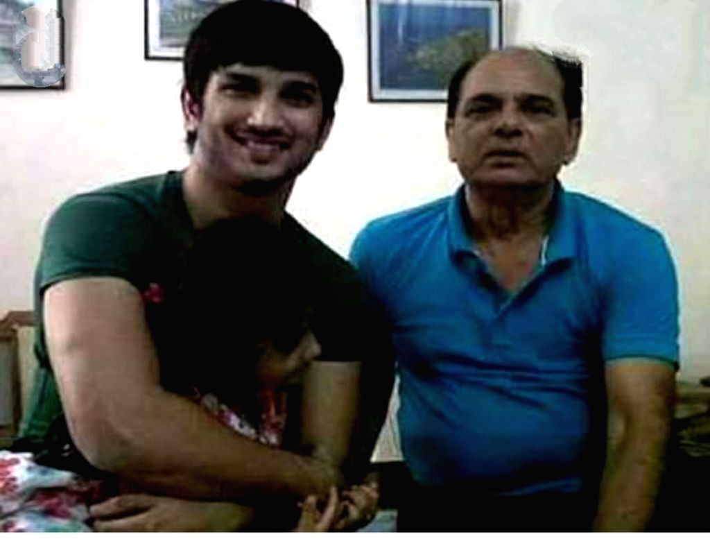 Sushant and his Father
