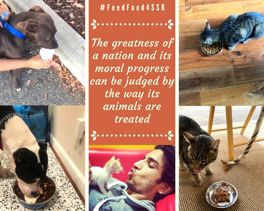 Sushant's sister initiates #FeedFood4SSR in late actor's memory.