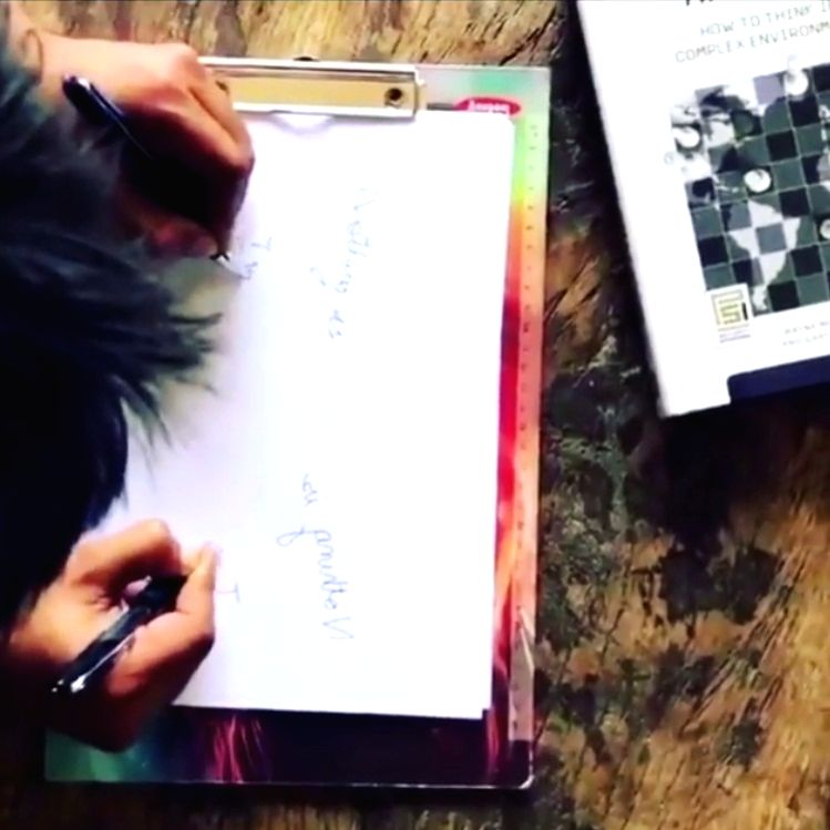 Sushant's sister posts video of late actor writing with both hands at once.